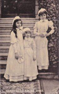 TUCK #6595; Dainty Little Nurses Three, PU-1947