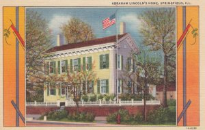 SPRINGFIELD, Illinois, 30-40s; Abraham Lincoln's Home