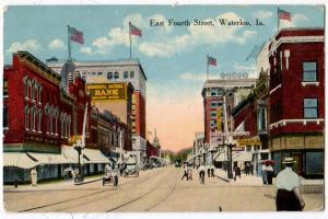 East 4th St. Waterloo IA