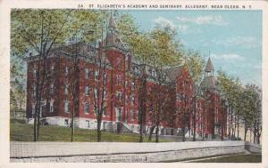 New York Olean Saint Elizabeths Academy And Seminary Allegany
