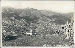 portugal, MADEIRA, Vista do Pico do Barcellos 50s RPPC