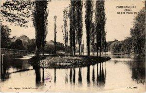 CPA Ermenonville- Ile des Peupliers FRANCE (1020497)