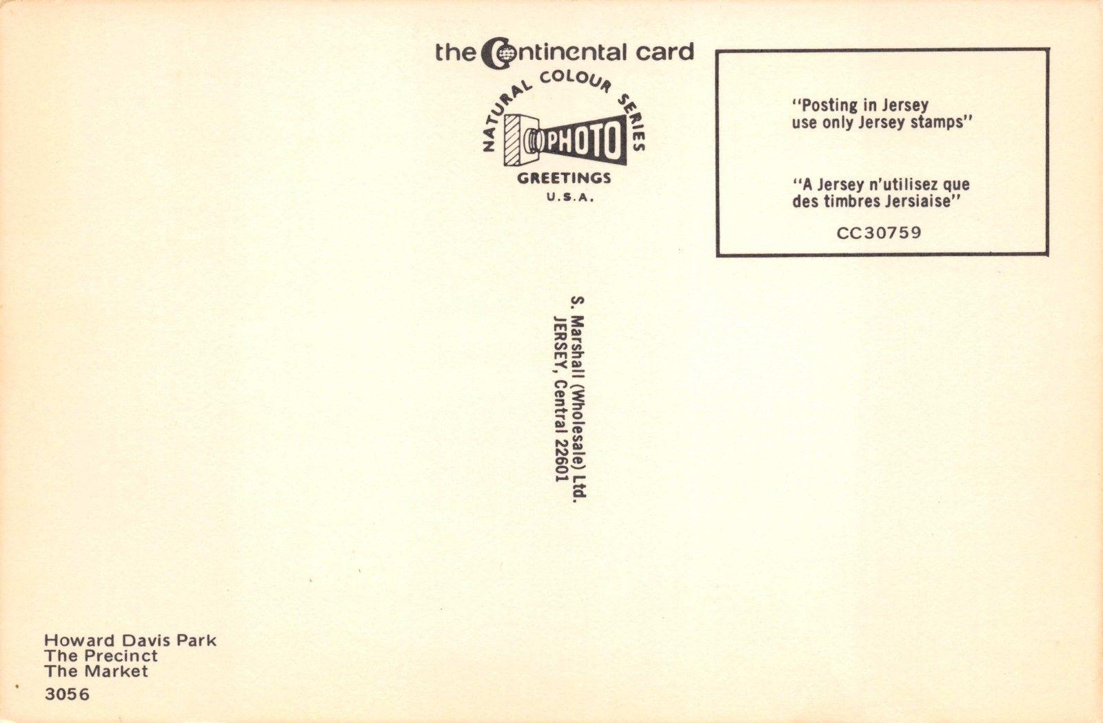 Postcard Greetings From St Helier Jersey Channel Islands