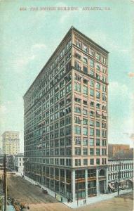 Atlanta Georgia Empire Building C-1910 Postcard Selige 3514