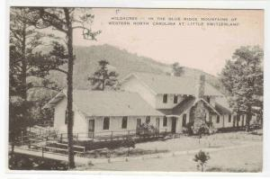 Wildacres Blue Ridge Mountains Little Switzerland North Carolina postcard