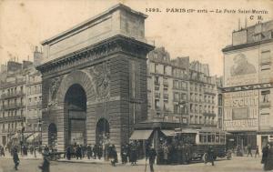 France Paris La Porte Saint Martin 01.73