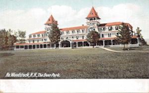 NORTH WOODSTOCK NEW HAMPSHIRE-THE DEER PARK POSTCARD 1900s