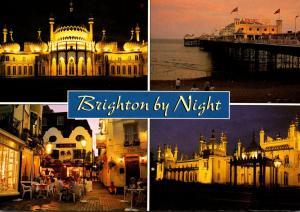 England Brighton Multi View By Night