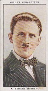 Wills Vintage Cigarette Card Radio Celebrities No 1 A Stuart Hibberd