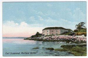 Fort Scammel, Portland Harbor