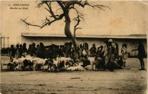 CPA DIRE-DAOUA Marche au betail MADAGASCAR (709613)