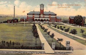 Lancaster Pennsylvania Thaddeus Industrial School Antique Postcard K104303