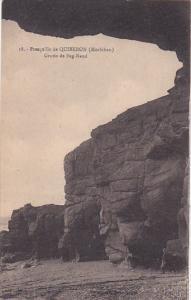 QUIBERON, Morbihan, France, 1900-1910's; Presqu'ile De Quiberon, Grotte De Be...