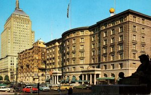 Massachusetts Boston Sheraton Plaza Hotel and John Hancock Building