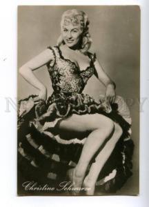 139295 Christine SCHWARZE German Movie Actress Vintage PHOTO