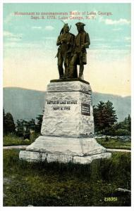 18944   NY Lake George  Battle Monument