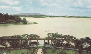 KAOHSIUNG, Taiwan, 1940-1960's; Tabey Lake, Aerial View