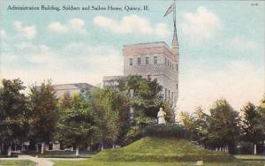 Illinois Quincy Administration Building Soldiers And Sailors Home
