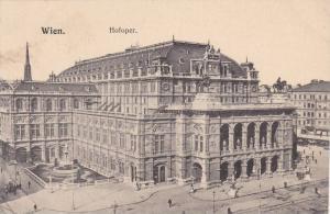 Hofoper, Wien, I., Austria, 1900-1910s