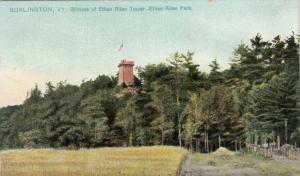 BURLINGTON, Vermont, 00-10s; Glimpse of Ethan Allen Tower, Park, TUCK # 5852