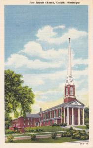 First Baptist Church , CORINTH , Mississippi , 1930-40s