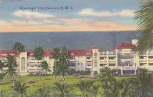 Partial Scene, Greetings From Jamaica, B.W.I., 1900-1910s