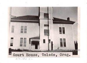 Court House - Toldeo, Oregon