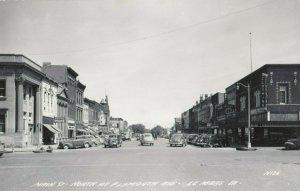 RP: LE MARS , Iowa , 1930-40s ; Main Street