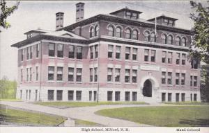 MILFORD, New Hampshire, 1900-1910's; High School