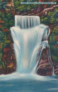 Buckhill PA, Pennsylvania - WaterFall - Lower Buckhill Falls - Linen