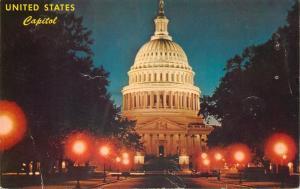 United States Capitol by night Washington