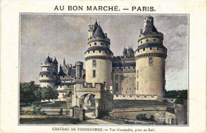 CPA Chateau de PIERREFONDS Vue d'ensemble prise au Sud (376933)