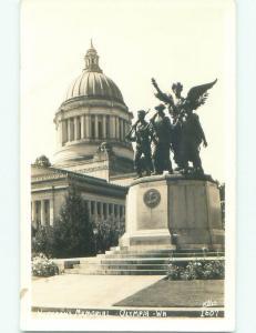 Pre-1950 rppc NICE VIEW Olympia Washington WA W0713