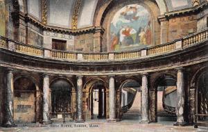 Memorial Hall, State House, Boston, Massachusetts, Early Postcard, Unused