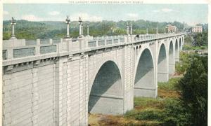 DC - Washington, Connecticut River Bridge - Largest Concrete Bridge in the W...