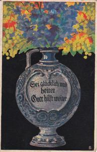 AS: Still-Life, Flowers in Vase, Kunst #181, 00-10s