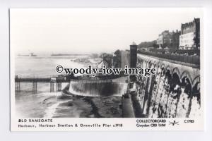 pp2169 - Kent - Harbour, Station and Granville Pier, c1918 - Pamlin postcard