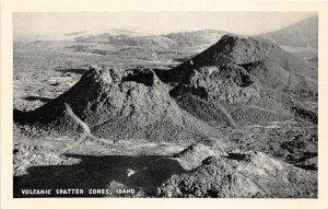 H83/ Volcanic Spatter Cones Arco Idaho Postcard c1940s 52