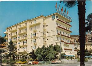 Hotel BELLEVUE AU LAC , Lugano, unused Postcard