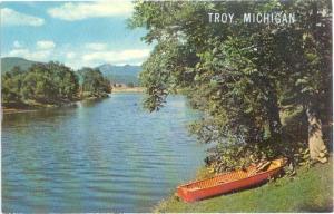 Scenic Lake Card, Troy Michigan MI