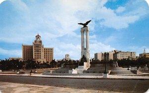 Monumento El Maine Habana Cuba, Republica de Cuba Unused