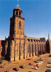 Netherlands Deventer Grote of Lebuinuskerk, Bouwjaren Cars Voitures