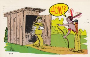 Indian Comic . How , 1960