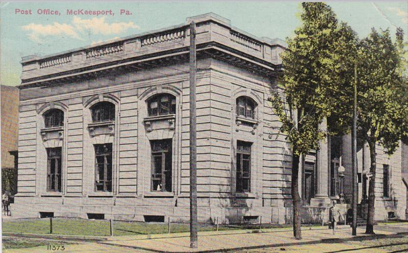 Post Office , McKeesport , Pennsylvania , PU-1912