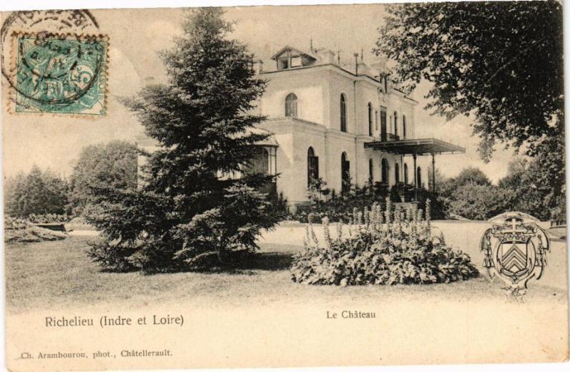 CPA RICHELIEU (Indre et Loire) - Le Chateau (227045)