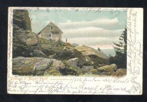 1902 GRUSS AUS BAYER WALD ARBERSCHNUTZHAUS SWITZERLAND VINTAGE POSTCARD