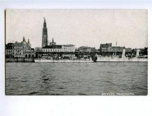 158151 Belgium ANTWERP Panorama LINER Marine ADVERTISING BOEK