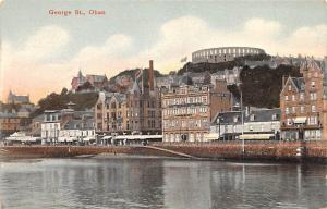 Scotland, UK Old Vintage Antique Post Card George St Oban Unused