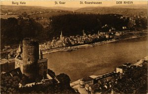 CPA AK Saint Goar Der Rhein GERMANY (890147)