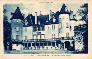 CPA l'Auvergne COURPIERE Chateau de la BARGE (409908)